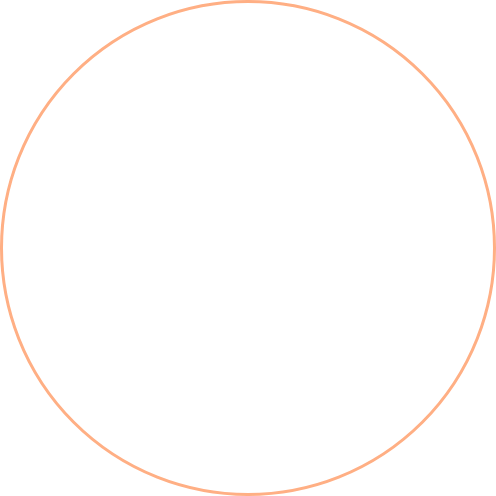 beige circle outline